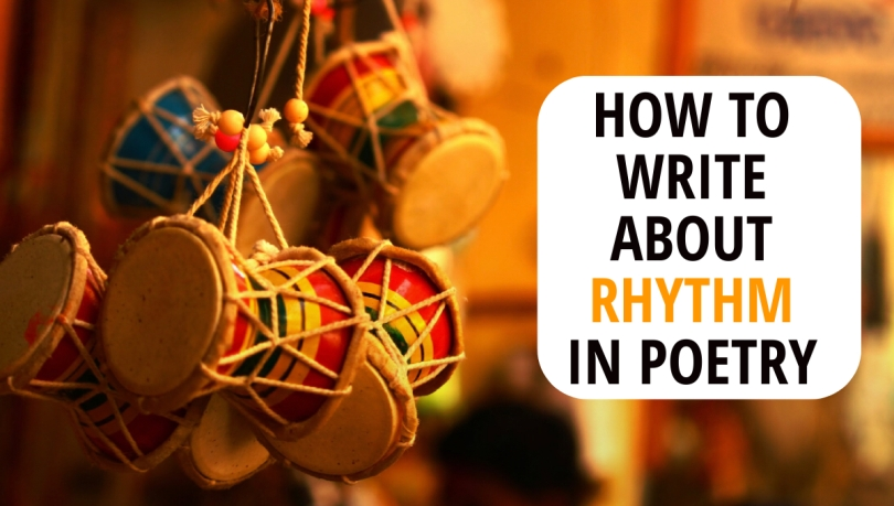 how to write about rhythm in poetry