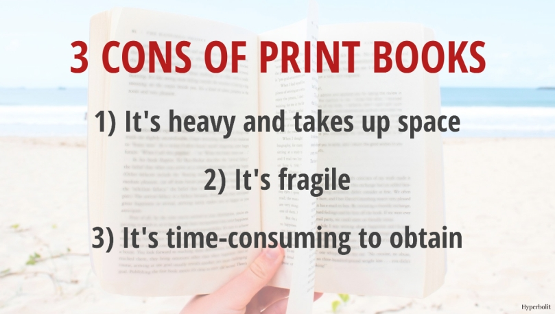 cons of print