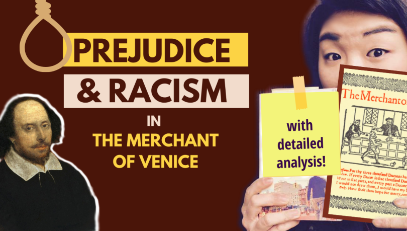 prejudice racism in merchant of venice Shakespeare analysis summary quote