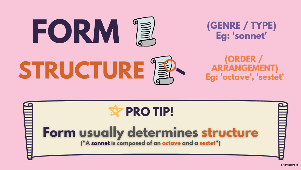 form vs structure difference