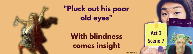 pluck out his poor old eyes king lear