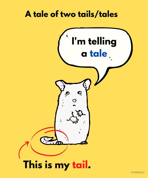tale vs tail pun