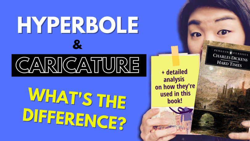 hyperbole vs caricature what's the difference