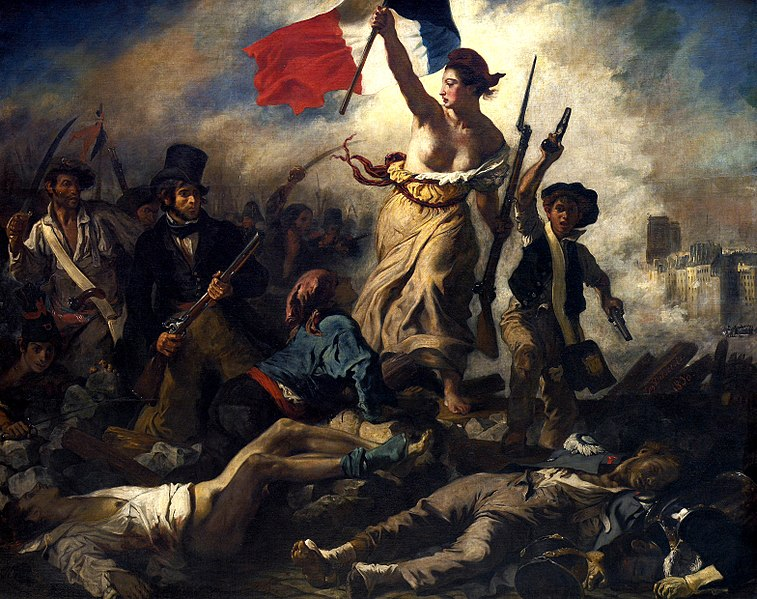 Liberty Leading the People (1830), by Eugene Delacroix