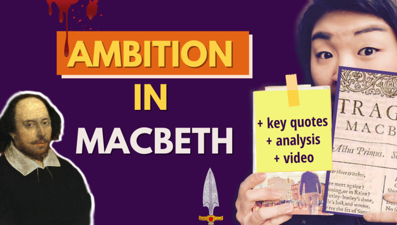 ambition in Macbeth analysis summary quotes Shakespeare