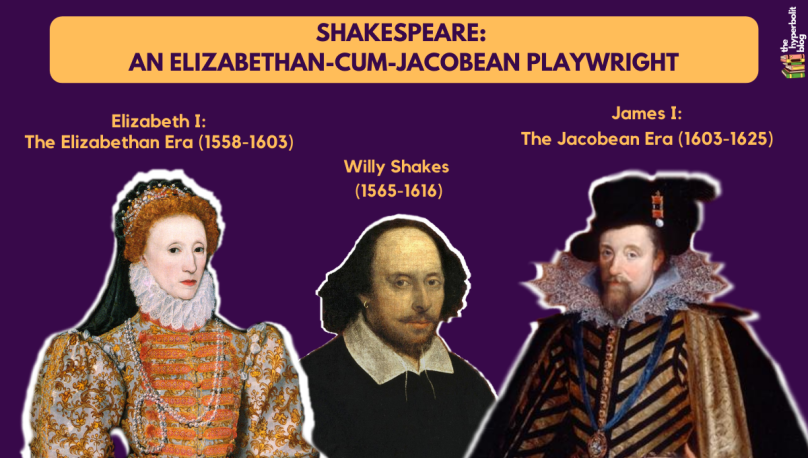 Shakespeare elizabethan Jacobean playwright