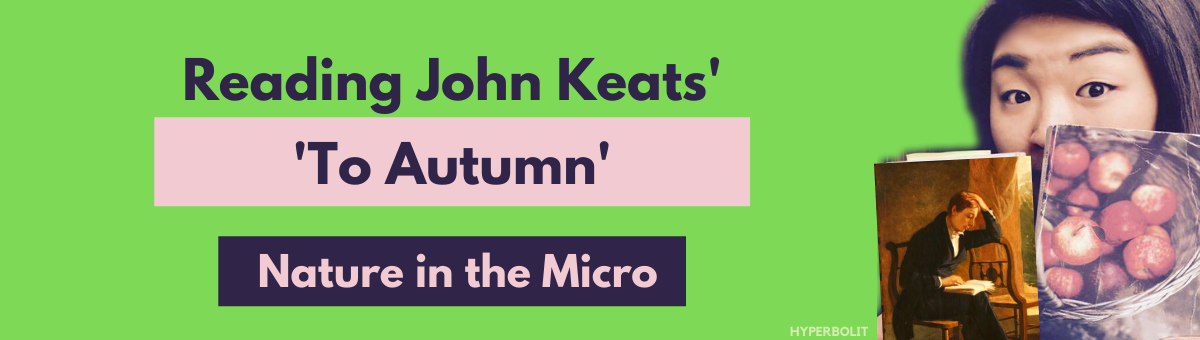 John Keats to autumn