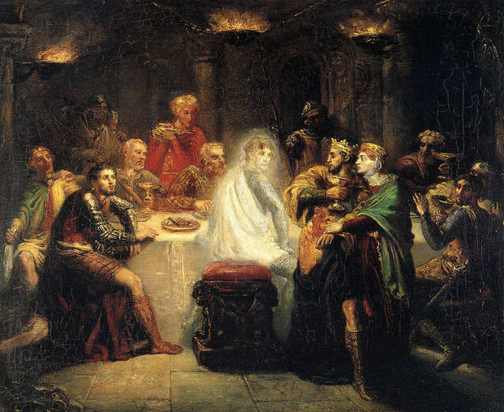 banquo at the banquet Macbeth Shakespeare