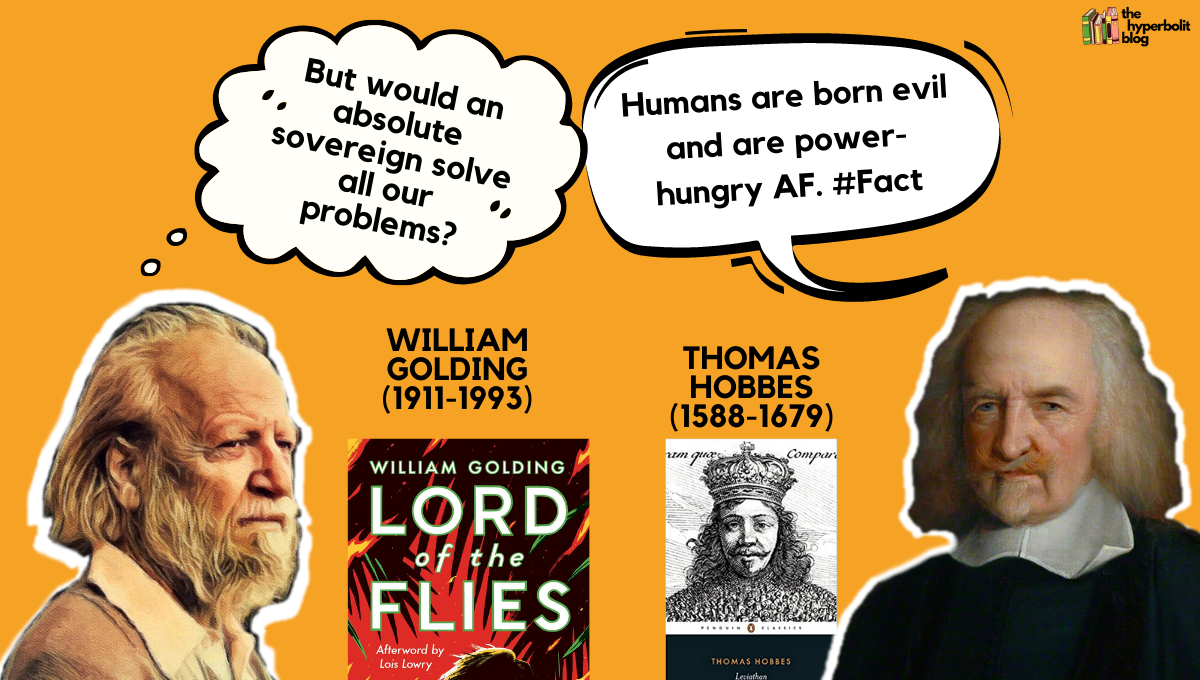 William golding lord of the flies Thomas Hobbes