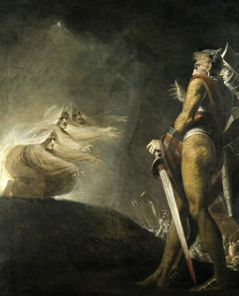 banquo Macbeth three witches Shakespeare