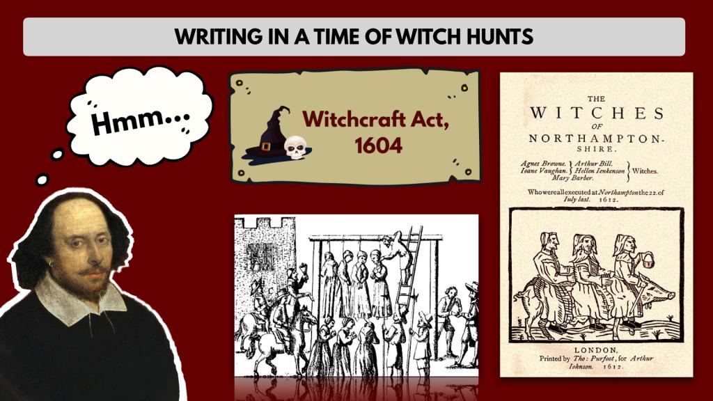 Shakespeare witch hunt Macbeth