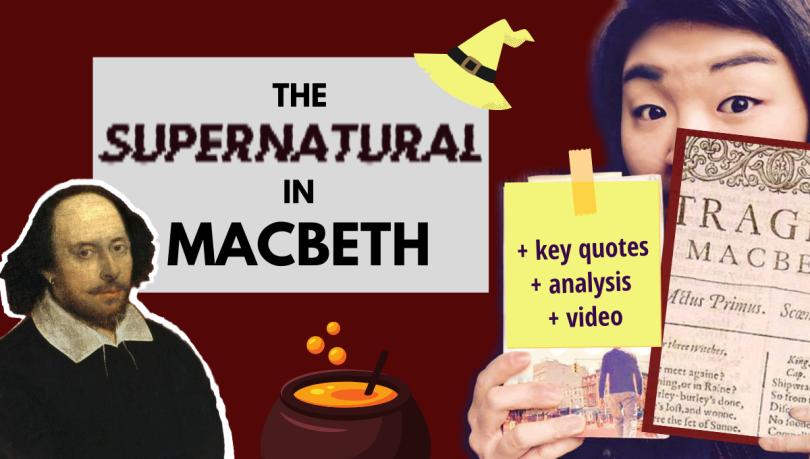 supernatural in Macbeth Shakespeare quotes analysis summary