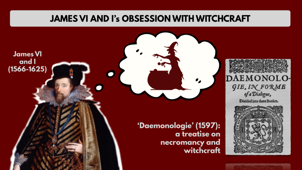 James vi and I daemonologie witchcraft Macbeth shakespeare
