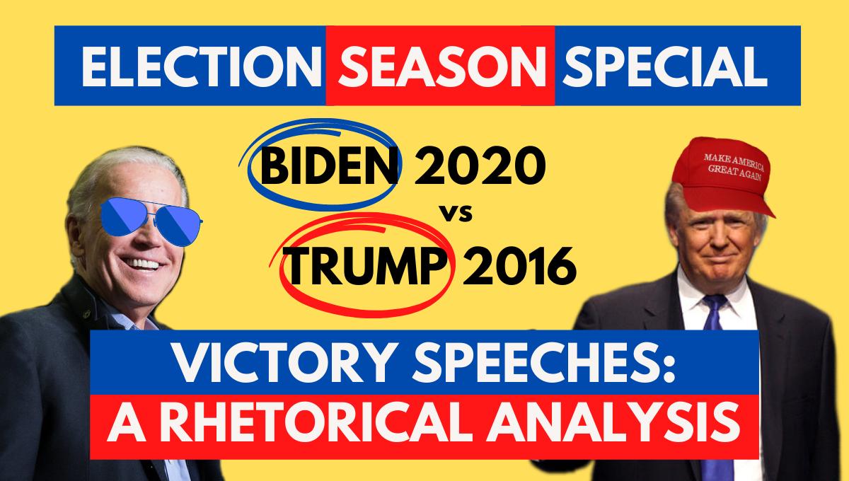 Joe biden Donald trump speech analysis election