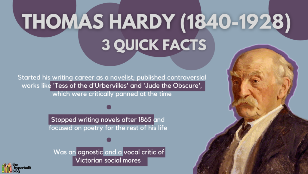 Thomas hardy biography quick facts