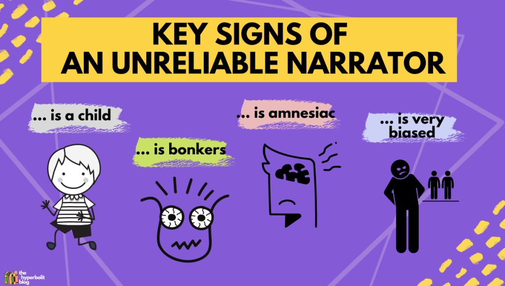 unreliable narrator examples key signs in literature