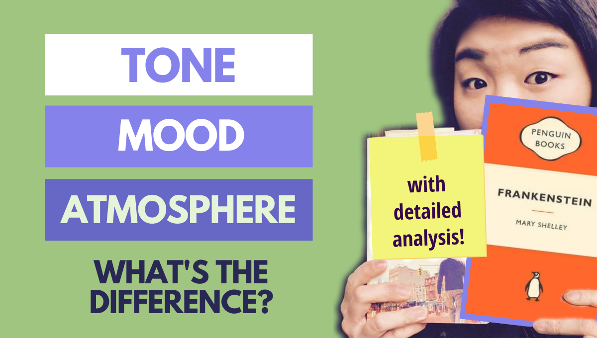 difference between tone mood atmosphere