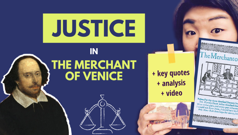 merchant of venice justice analysis summary quotes