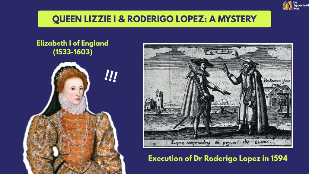 Elizabeth I Roderigo Lopez merchant of venice context