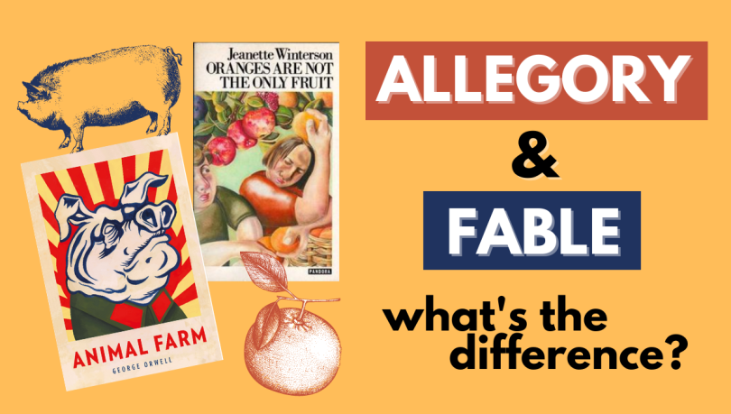 allegory vs fable animal farm