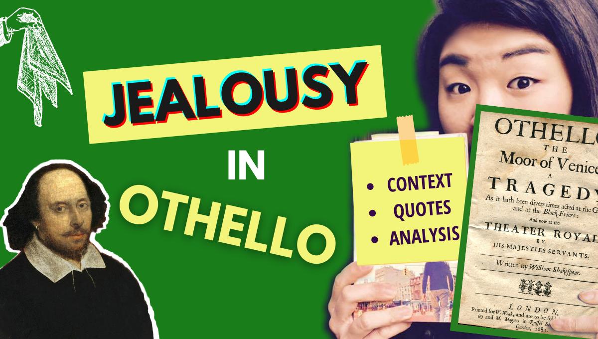 othello summary analysis themes jealousy