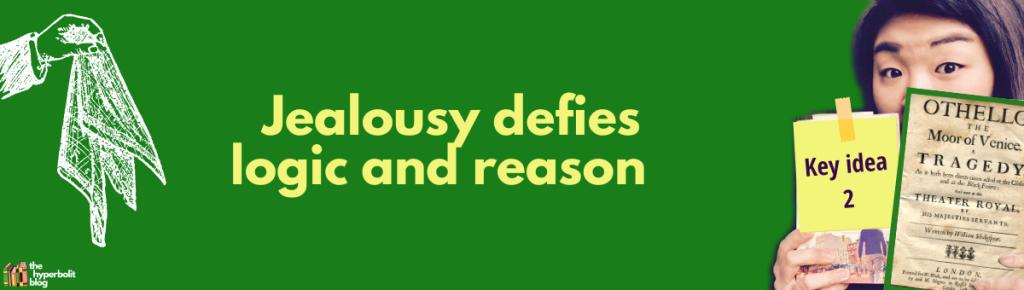 jealousy othello theme summary analysis