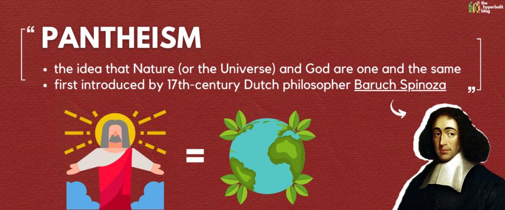 pantheism definition Spinoza