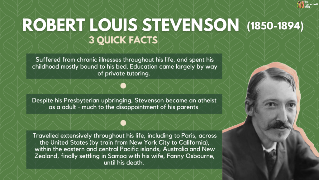 Robert Louis stevenson biography facts Jekyll hyde summary analysis themes quotes