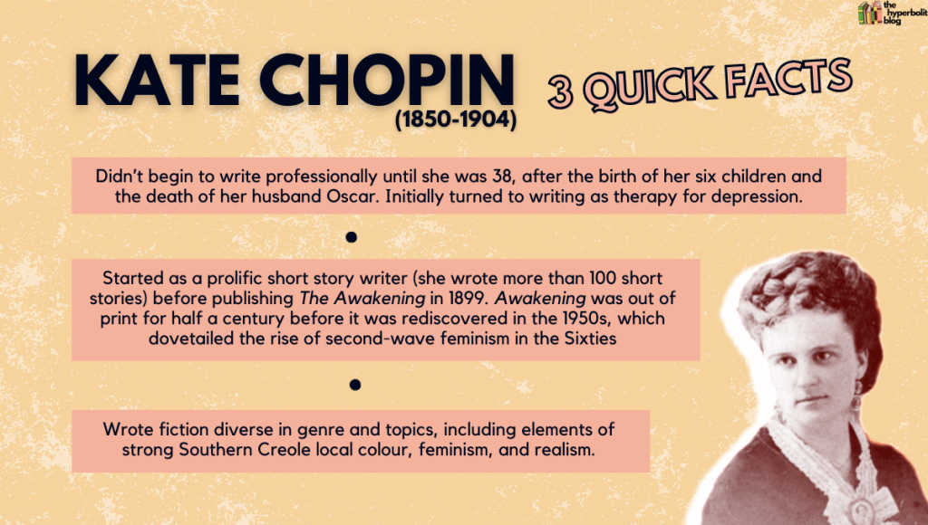 Kate Chopin facts biography wikipedia