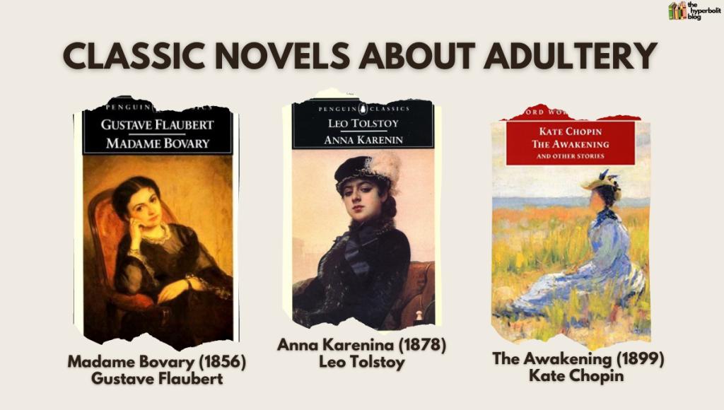 novels about adultery madame Bovary Anna karenina the awakening Tolstoy Flaubert Chopin literature